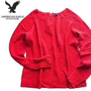 💋Red💋 AE American Eagle sweater, L